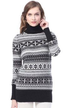 Длинный женский свитер VIAGGIO со скидкой